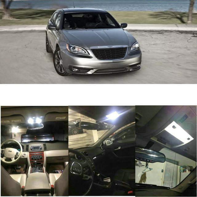 Interior Led lights For 2012 Chrysler 200 300 Town Country  vehicle interior led lights 1