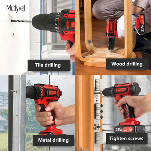 Image 5 - Cordless Drill Mini 12V 16.8V 21V Rechargeable Power Tools 2 speed Flexible Shaft Cordless Screwdriver Electric