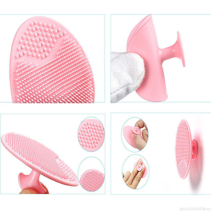 تدليك سيليكون الوجه فرشاة تنظيف الوجه غسل الوسادة الوجه التقشير البثرة الجمال لينة العميق تنظيف فرش TSLM1
