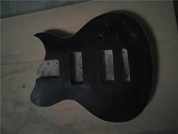 Afanti muzyka DIY gitara zestaw DIY gitara elektryczna ciała (MW-3-547) tanie i dobre opinie none not sure Nauka w domu Do profesjonalnych wykonań Beginner Unisex CN (pochodzenie) Drewno z Brazylii Electric guitar