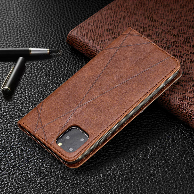 Luxury Flip Leather Wallet Case for iPhone 11/11 Pro/11 Pro Max 8
