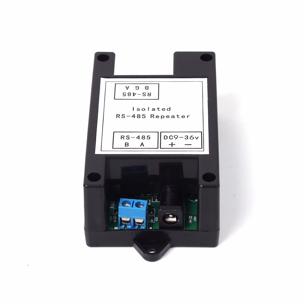 Taidacent High-performance RS485 Repeater Photoelectric Isolator RS485 Isolated Repeater Distance Extender Converter Amplifier