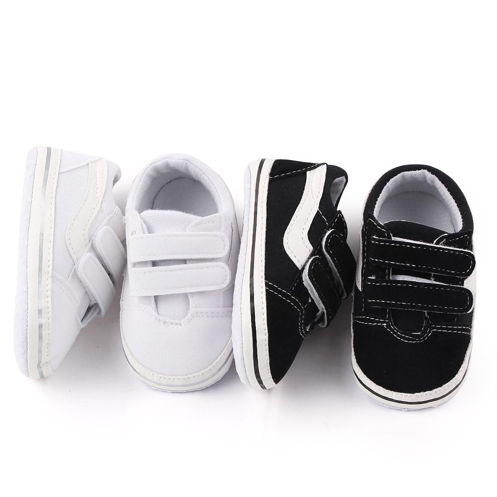 Newborn Cartoon Soft Crib Sole Baby Kids Girls Boys Pre-walker Pram First Shoes