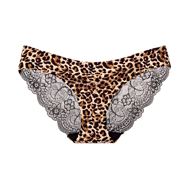 Ladies Underwear Woman Panties Sexy Lace Plus Size Panty Transparent Low-Rise Cotton Briefs Intimates New  1/2 Pcs 4