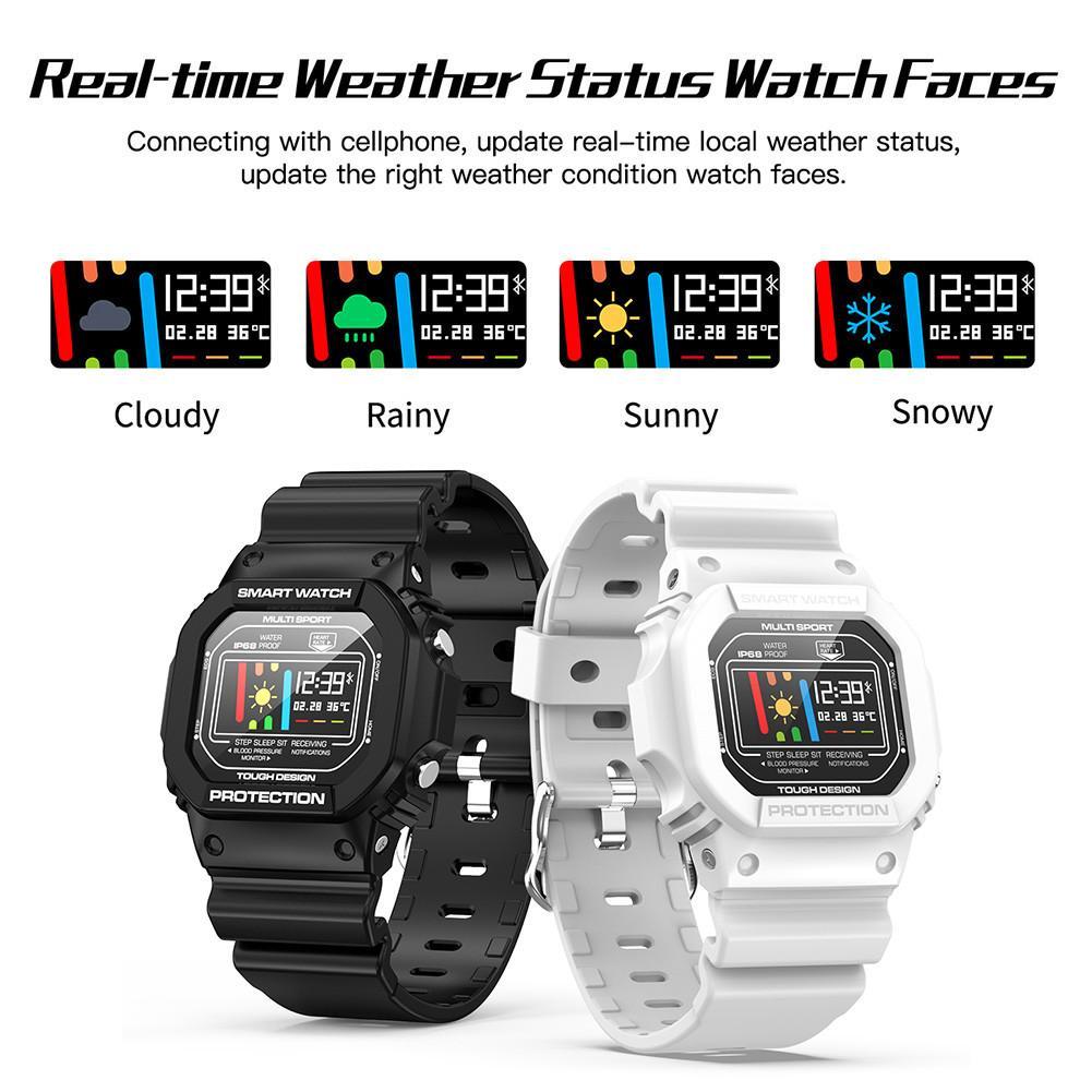 X12 ЭКГ+ PPG Спорт Здоровье Водонепроницаемый Bluetooth Смарт часы Пульс мониторинг сердечного ритма ЭКГ кровяное давление монитор сна Браслет
