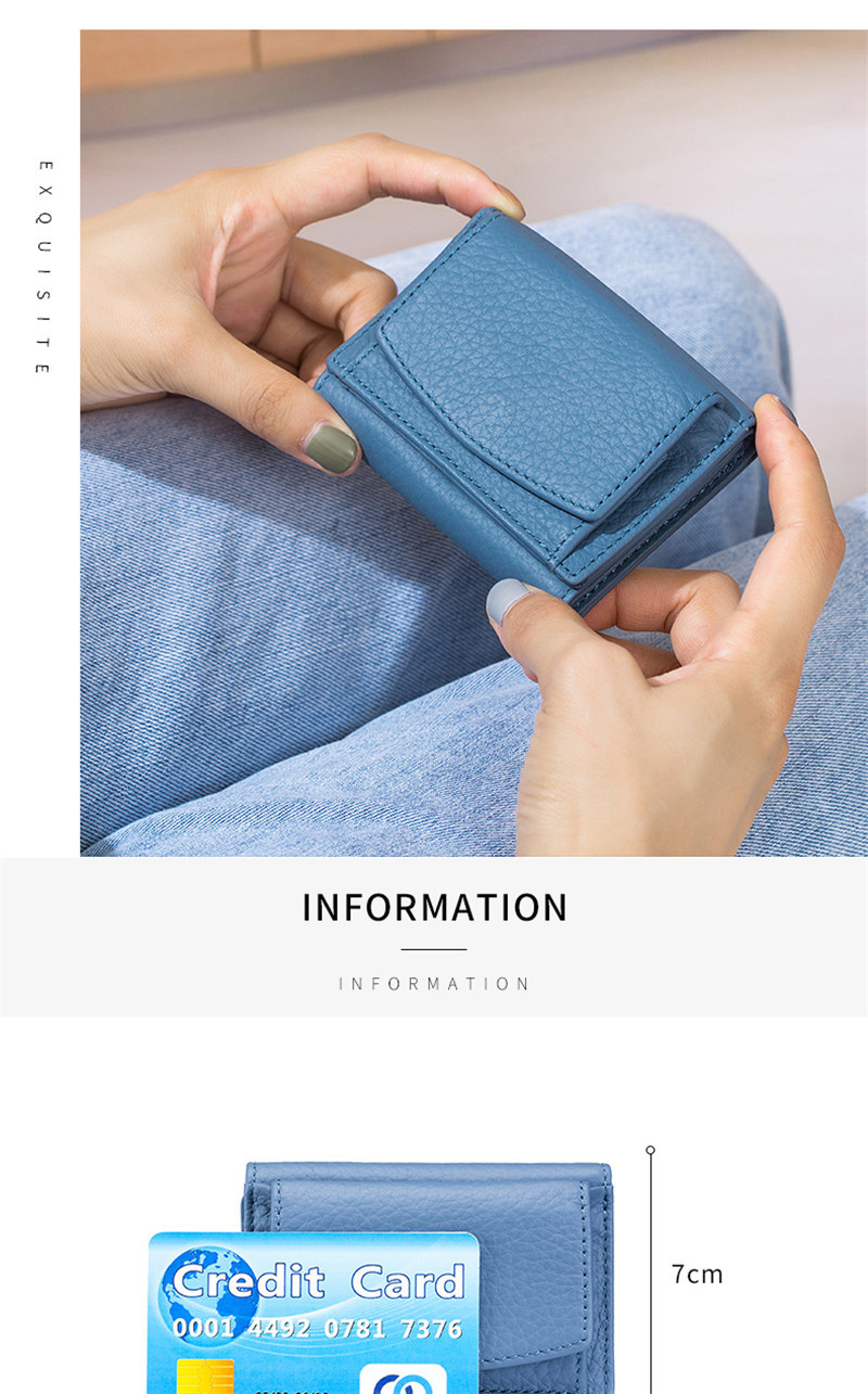 RFID PU Leather Wallet