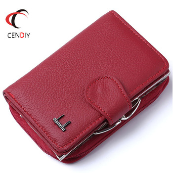 Fashion Women Wallets Cow Genuine Leather Female Coin Purse Nubuck Card Holder Cowhide Leather Wallet Women Small Zipper Wallet genuine leather women wallet fashion cute women s wallet small zipper coin wallet female short leather women purse card wallet