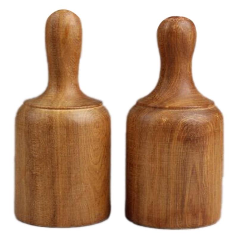 perfumado madeira copos terapia corpo cupping massagem conjunto