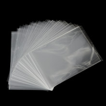 1/100Pcs Plastic Clear Sweets Cookies Lollipops Cake Cellophane Bags Packaging Candy Cookie Bag Wedding Birthday Party(China)
