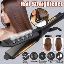 Thermostat Portable Hair Straight Splint Plate Fring Hairdre