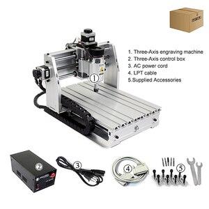 Image 3 - Mini, fraiseuse CNC, machine à graver 2520 cnc, surface de travail 250x200mm, routeur cnc