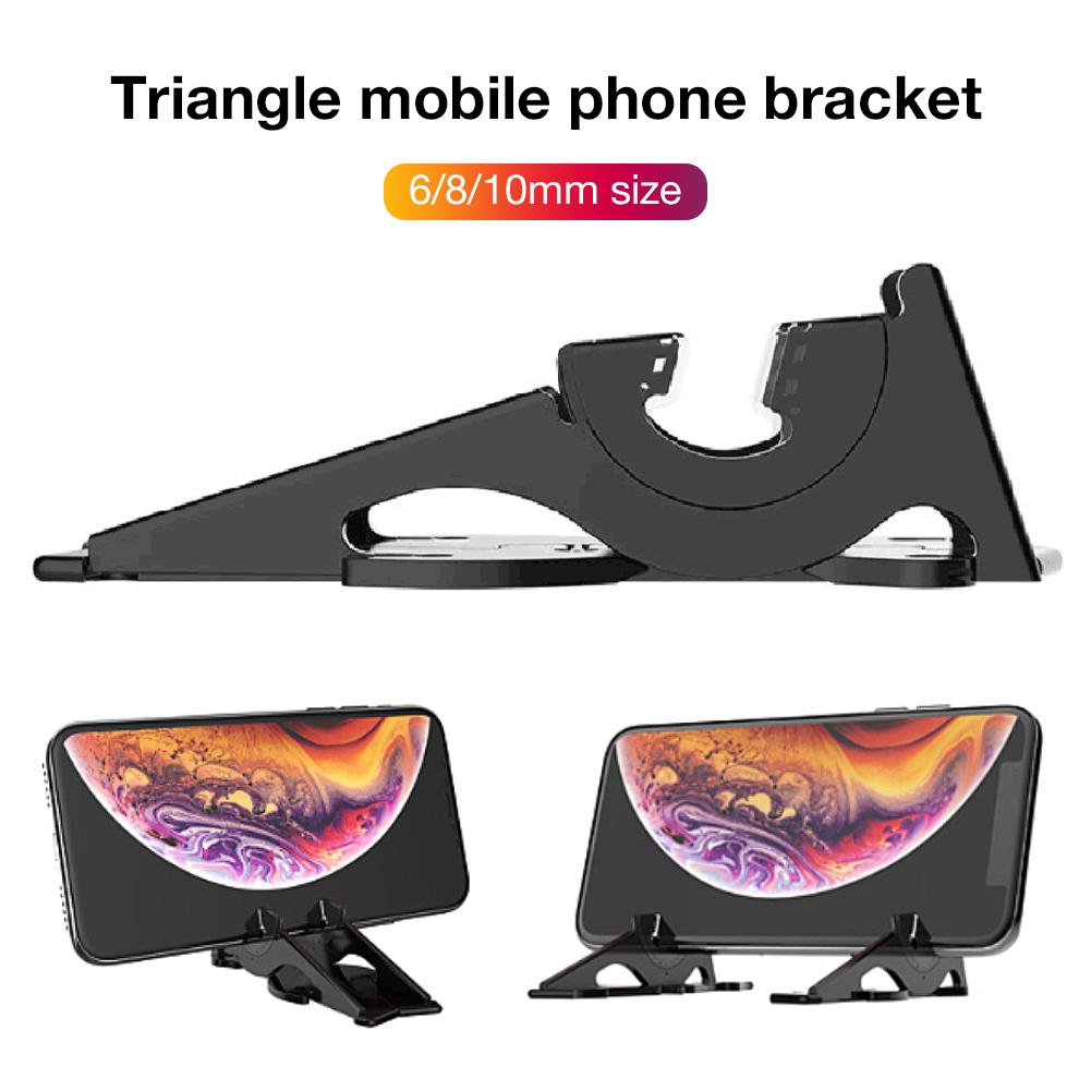 High-quality Phone Holder Geometric Pocket Three-Legged Bracket Card-Type Stand Portable Compact Adjustable Photography Tripod