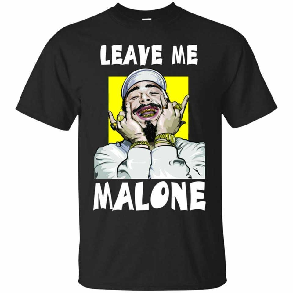 Rapper Post Leave Me Malone Hip Hop Vintage Men/'s T Shirt Short Sleeve Tee