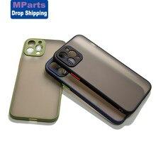 M-peças matte caso do telefone capa para o iphone 12 pro max caso 11pro xs xr 8 7 6s mais proteção para o iphone 12 capa traseira