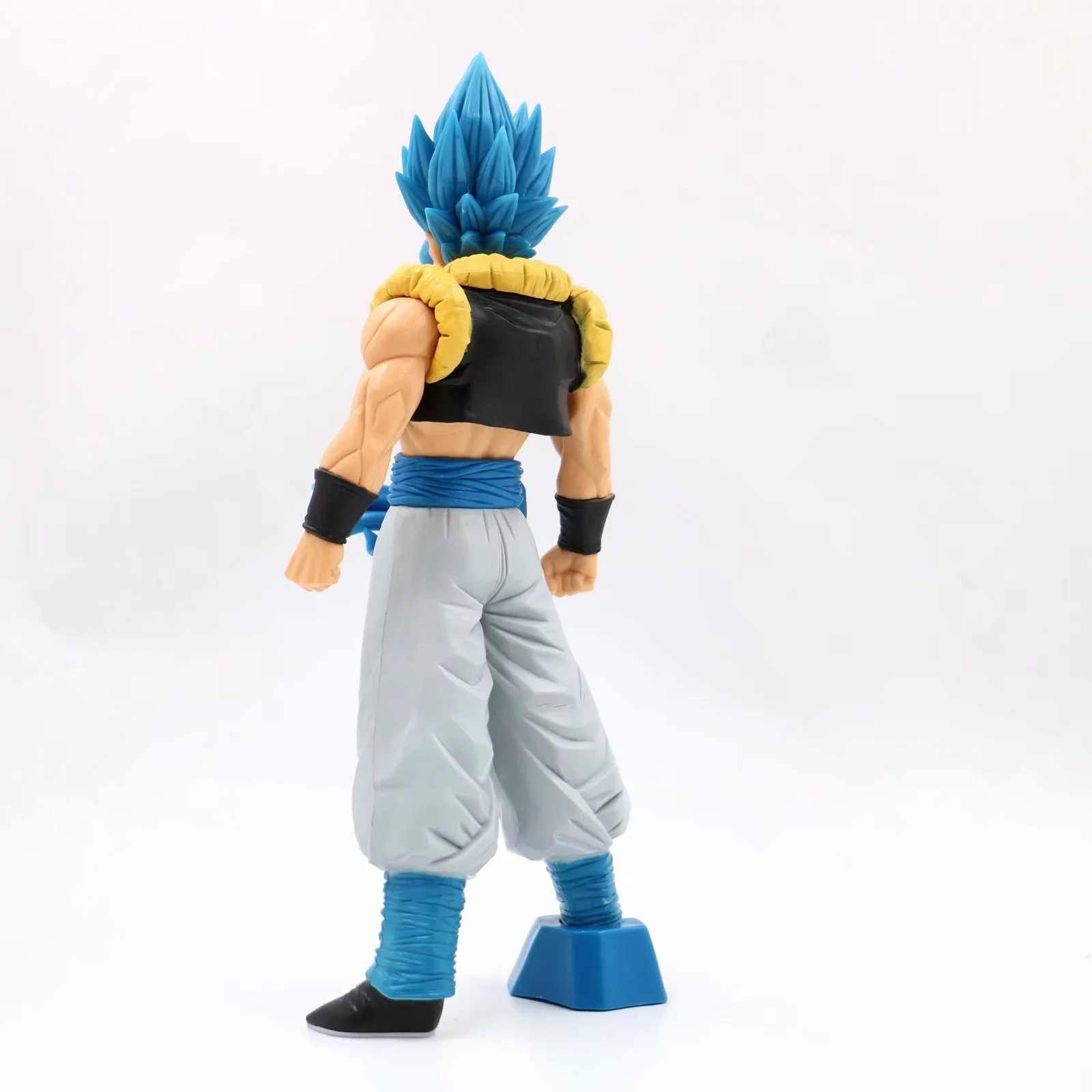 Collections Anime Jouets Dragon Ball Z Broly Blue Hair Figurines Statues 21cm
