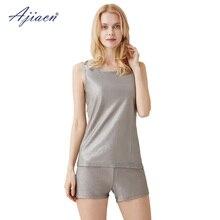 Recommend anti-electromagnetic radiation underwear vest set 5g communication EMF shielding 100% silver fiber vests and boxers