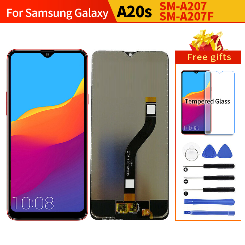Original For Samsung A20s A207 SM-A207F lcd Display Screen Replacement for Galaxy A20s SM-A207F A207 display lcd screen pantalla