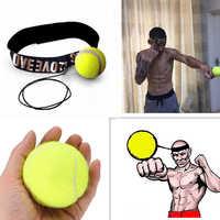 Luta de Boxe Bola Velocidade de Reação Reflexa Muscular Treinamento de Combate De Boxe Soco Lomachenko Saco Vermelho e Amarelo Thai Instrutor Boxeo