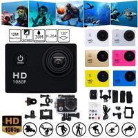 1080P HD su sporları Mini DV Video kayıt kamera 140 derece geniş açılı görünümü su geçirmez açık şarj edilebilir hava kamera