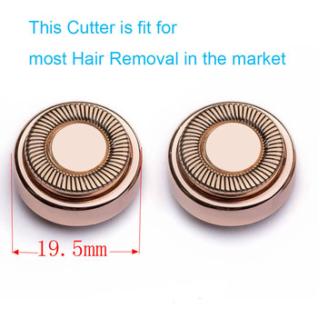1/2/4pcs Replacement Heads For Hair Remover Painless Blades Cleaning Count Women Electric Face Bikini Shaver Eplicator - discount item  50% OFF Personal Care Appliances