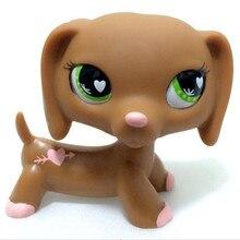 Редкие животные pet shop lps Игрушка Собака Такса коричневый 72 78 79 персонаж овчарка кокер спаниель Отличная собака подарок ребенку