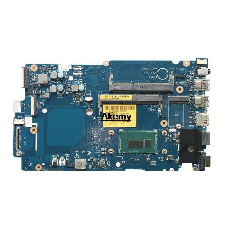3450 3550 ZAL50 LA-B071P Papan Utama untuk DELL Latitude 14 3450 3550 Laptop Papan Utama DDR3 SR1EN I3-4030U Perusahaan 100% Bekerja