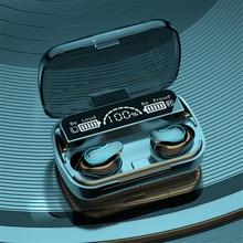 TWS Bluetooth 5.1 Wireless Stereo Earphones Earbuds In-Ear Noise Reduction Waterproof Headphone Headset With Charging Box