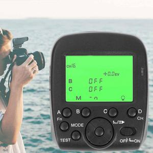 TRIOPO-disparador de Flash inalámbrico G1 2,4G sistema TTL Dual para Sony Alpha77II Alpha7RII Alpha7RPoint studio flash Canon Nikon Camera