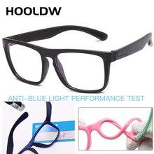 Glasses Kids Computer Optical-Frame Blue Light Blocking Children Boy Girl HOOLDW UV400