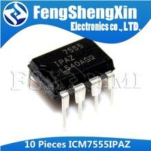 10 pces icm7555ipaz dip-8 icm7555 dip 7555 icm7555ipa dip8 temporizadores de uso geral ic