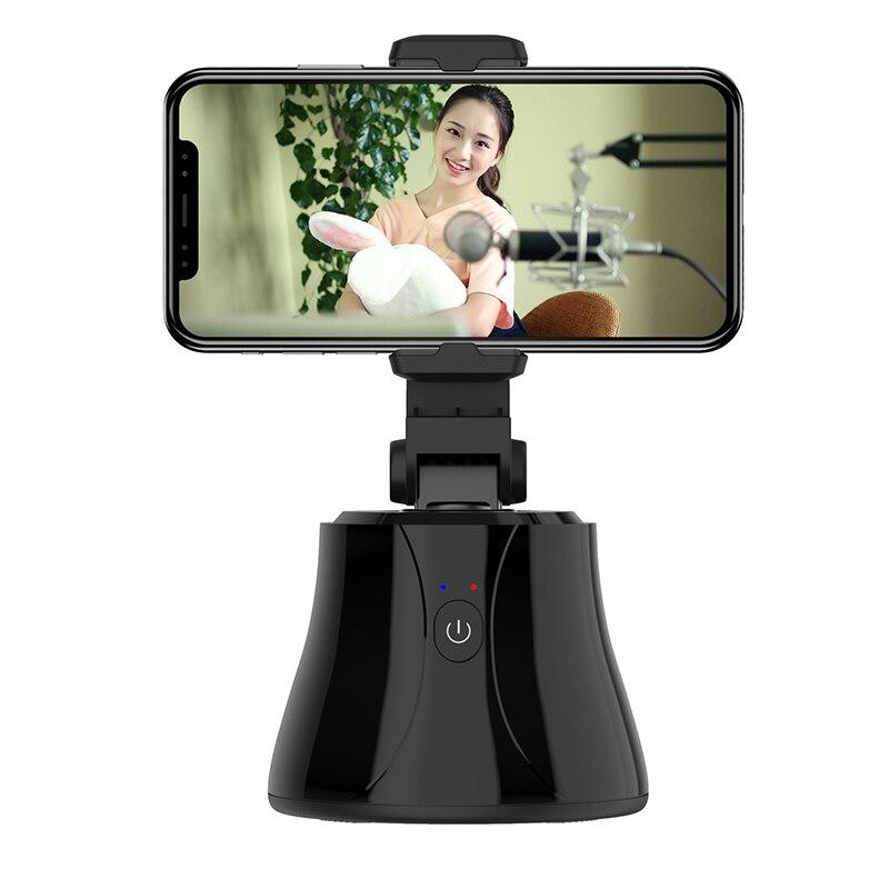 360 ° вращающийся Интеллектуальный IA распознавание лица камера слежения PTZ камера телефон Gimbal стабилизатор мобильный телефон стенд/Прямая т...