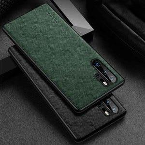 Image 2 - Чехол из натуральной кожи для Huawei P30 Pro, прочный чехол накладка, чехол для Huawei P30 P30Pro, Защитный корпус
