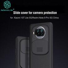 Cho Redmi Note 9 Pro Ốp Lưng 5G CamShield Ốp Lưng Khung Nhựa Cứng Ốp Lưng Cho Xiaomi Mi 10T Lite ốp Lưng 5G Чехол Nillkin