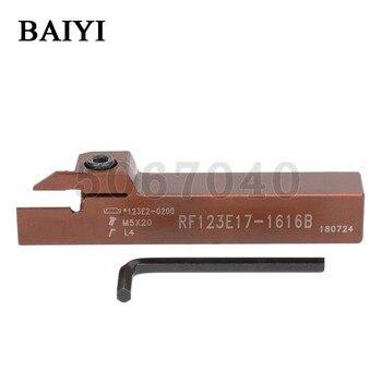 RF123E17-2020B Cut-off holder 10pcs N123E2-0200-0002-TF 4225 carbide inserts