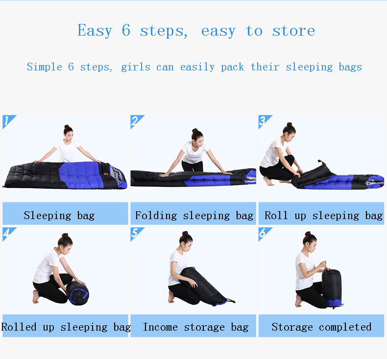 Person - Down sleeping bag