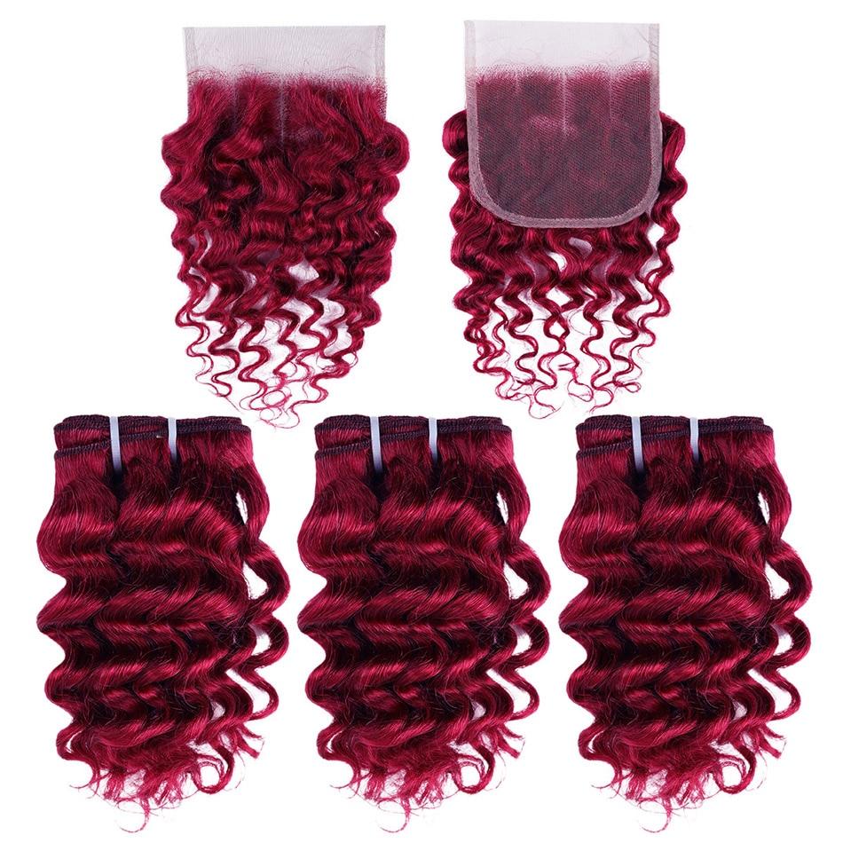 Настоящая красота, 3 пряди, бразильские волнистые волосы, волнистые, с застежкой на шнуровке, черные, медовые, светлые, 613 Реми, человеческие в...