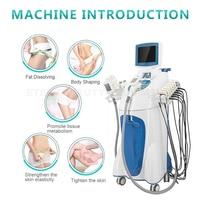 Máquina de adelgazamiento de cavitación personalizada velo, rodillo de cavitación 40K, almohadillas láser Rf, equipo 5 en 1, rejuvenecimiento de la piel, indoloro