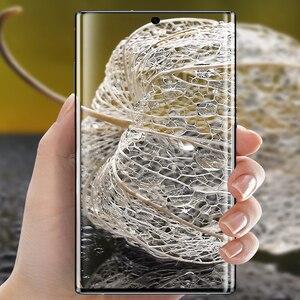 Image 5 - 9D verre trempé pour Samsung note 10 protecteur décran en verre plein bord incurvé pour Samsung note 10 Plus 10 + Pro verre de protection