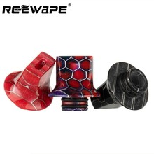 Drip Tip 510 Resin Cigarette Holder Accessories Resin Flat Mouthpiece for TFV8 Big Baby/TFV12 High Quality(China)