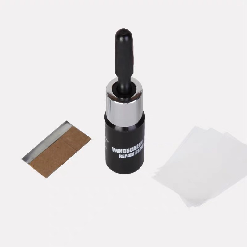 Auto Glass Windshield Repair Kit with Nano Glass Correcting Set with Glue For Cracks and scratches