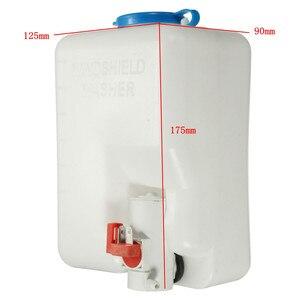 Image 5 - 12V 자동차 앞 유리 세탁기 저수지 펌프 병 키트 앞 유리 노즐 제트 스위치 자동 보트 해양 청소 도구 키트