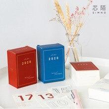 2020 Journal Friend Creative Pocket Thick Calendar Pad 6cm*9cm цена в Москве и Питере