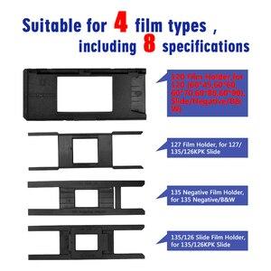 """Image 2 - High Resolution 22 Mega pixels 120 Slide Film Scanner 35mm Negative Photo Scanner Digital 135 126KPK Film Converter 4.3""""LCD"""