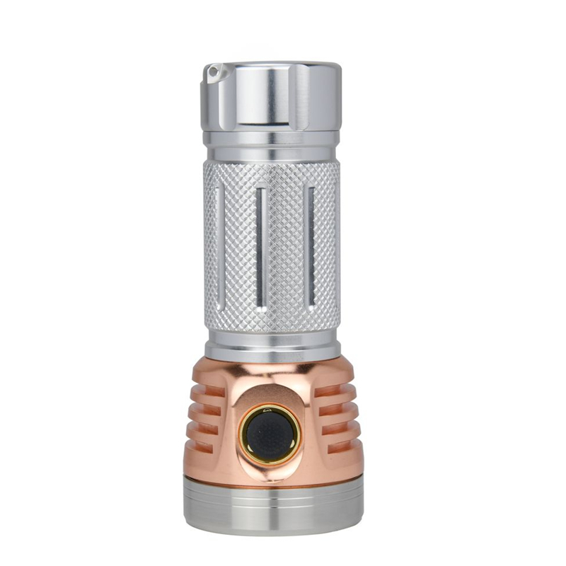 7 Astrolux MF01 Mini De Alumínio De Cobre * Campact SST20 5500LM Tipo C Recarregável Lanterna EDC 26650 21700 18650 Tocha lanterna - 4