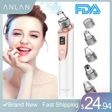 ANLAN Blackhead Remover Face Deep Poreทำความสะอาดสิวเสี้ยนกำจัดขนดูดสูญญากาศFacial SPA Diamond Beauty Skin Careเครื่องมือทำความสะอาด