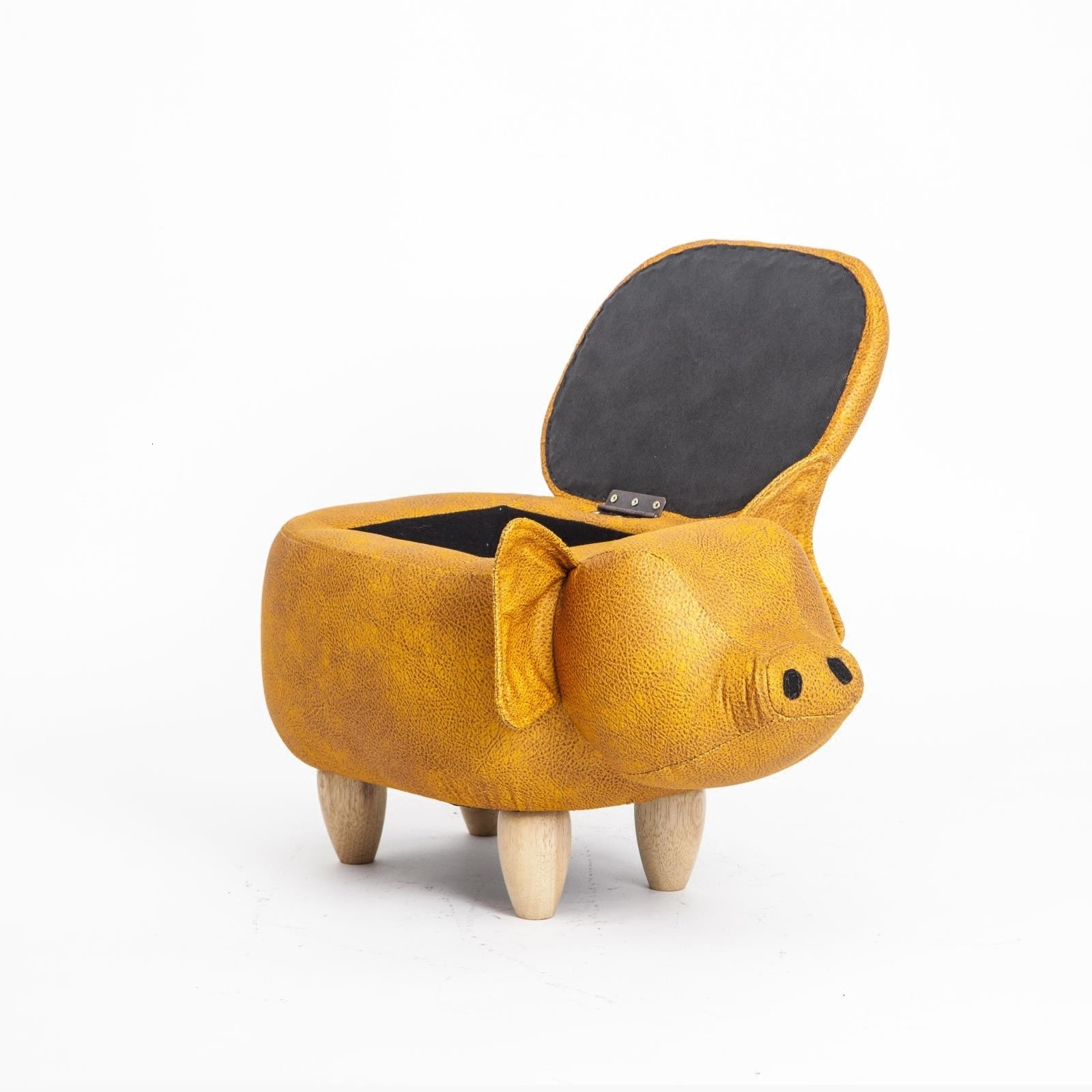 Originality Changing Shoes Stool Piglet Changing Shoes Stool Wear Shoe Stool Designer Lovely Interest Store Low Stool Cartoon