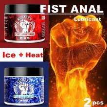Punho lubrificante anal analgésico/sensação de gelo/sensação de calor creme punho gel lubrificante sexo anal lubrificante lubrificante para mulheres gays