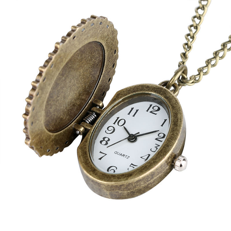 Charming Sailor Moon Pocket Watch Unique Large Dial Pentangle Wing Pendant Watches Cute Girl Clock Warcraft relogio masculino in Pocket Fob Watches from Watches