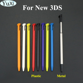 YuXi Plastic Touch Screen Pen Stylus Portable Pen Pencil Touchpen Set for Nintend For New 3DS Accessory image
