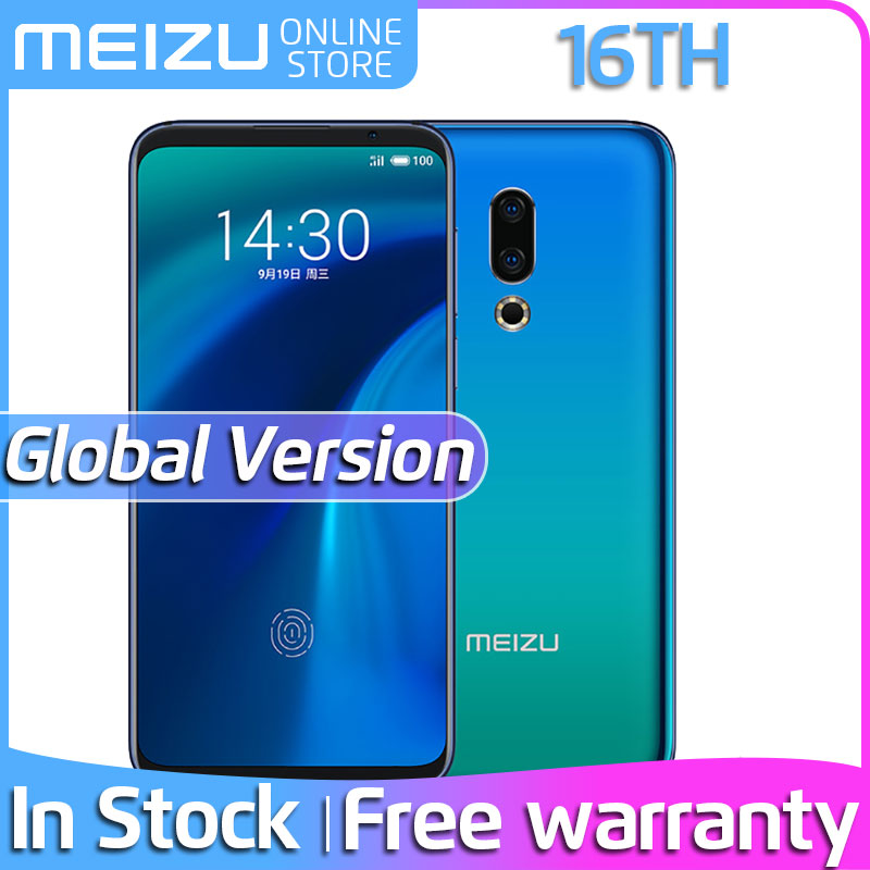 Official Global Version Meizu 16th 16 th 6GB 64GB Snapdragon 845 Octa Core 6.0
